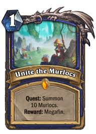 running wild give me a quest mage shaman rogue hearthstone