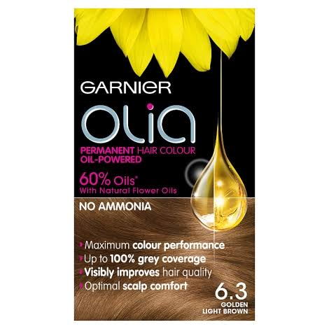 Garnier Olia Permanent Hair Colour - 6.3 Golden Light Brown