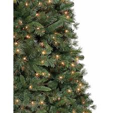 9 Ft Pre Lit Pencil Christmas Tree by Holiday Time Pre Lit 9 U0027 Lakeview Pine Artificial Christmas Tree