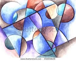 Abstract Art Design 358059629