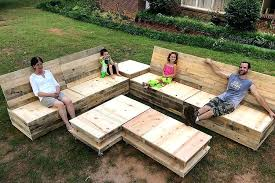 Plans For Pallet Furniture Pallet Garden Furniture Set Pallet