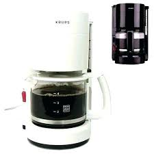 Krups Coffee Maker White Full Image For 4 Cup Programmable