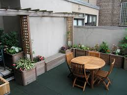 all decked out nyc rubberized rooftop decks deck design