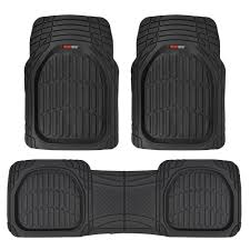 Scion Xb Floor Mats by Armor All Black Carpet Rubber Interior Floor Mat 4 Piece 78890