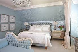 light blue color bedroom decorating ideas with enhancing classic