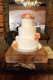 Rustic Wood Cake Stand Wedding Wooden Nz