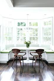 Bay Window Breakfast Nook Throughout Decorations Com With Regard To Inspirations 4 Dining Table Setting Up A Cozy Few Design Ideas For