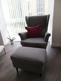 Tullsta Chair Cover Amazon by Ikea Gray Armchair Strandmon Wing Chair Nordvalla Dark Gray Ikea
