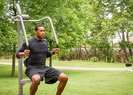 Captains Chair Exercise Youtube by Captain U0027s Chair Outdoor Fitness Parks Core Health