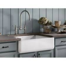 Kohler Whitehaven Sink Scratches by Drooling Over This Gorgeous Gray Cast Iron Farm Sink From Kohler