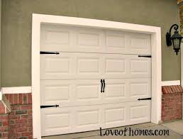 Fancy Up Some Garage Doorsby Adding Hardware To Them Decorative