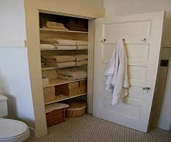 Bathroom Closet Ideas Gorgeous Design With Nifty Super Door Organizing Photos