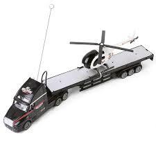 100 Rc Semi Trucks And Trailers Amazoncom Blue Block Factory Black Truck Trailer 20 Hauler
