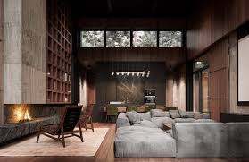 Home Interior Pics Rich Exquisite Modern Rustic Home Interior