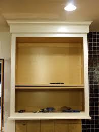 kitchen cabinet light rail molding connie s corner kitchen