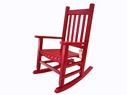 Rockingrocker - K086RD Durable Red Child's Wooden Rocking Chair/Porch  Rocker - Indoor Or Outdoor - Suitable For 4-8 Years Old Charleston Acacia Outdoor Rocking Chair Soon To Be Discontinued Ringrocker K086rd Durable Red Childs Wooden Chairporch Rocker Indoor Or Suitable For 48 Years Old Beautiful Tall Patio Chairs Folding Foldable Fniture Antique Design Ideas With Personalized Kids Keepsake 3 In White And Blue Color Giantex Wood Porch 100 Natural Solid Deck Backyard Living Room Rattan Armchair With Cushions Adams Manufacturing Resin Big Easy Crp Products Generations Adirondack Liberty Garden St Martin Metal 1950s Vintage Childrens