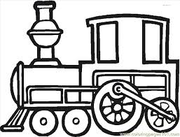 Train Coloring Page 29