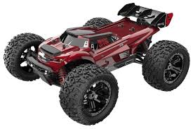 1/8 TR-MT8E V2 RC Monster Truck 4WD Brushless 2.4GHz Black - Zandatoys