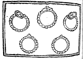 Five Gold Rings Gray Davis Antique Custom Jewelry