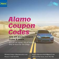 Rent A Fantastic Car Now. Use Alamo Coupon Codes Through ...