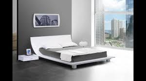 Bedroom Low Platform Bed Frame Design Ideas