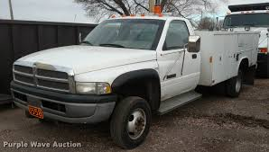 100 Utility Bed Truck For Sale 1995 Dodge Ram 3500 Utility Bed Pickup Truck Item DB0873