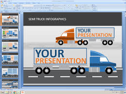 100 Semi Truck Tools PowerPoint Animated Presentation Template Infographics