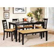 Bobs Furniture Diva Dining Room Set by Kitchen Tables With Benches