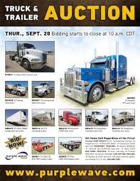 100 Semi Truck Trailers For Sale SOLD September 20 And Trailer Auction PurpleWave Inc
