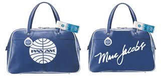 the estate of things chooses marc jacobs pan am bag