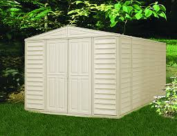 Lifetime 10x8 Shed Canada by Amazon Com Duramax 00584 Woodbridge Vinyl Shed With Foundation