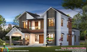 100 Contemporary Home Design 2777 Square Feet 4 Bedroom Sloped Roof Contemporary Home