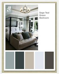 color scheme for master bedroom gray on walls teal curtains with