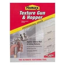 Using A Paint Sprayer For Ceilings by Homax Pro Gun And Hopper For Spray Texture Repair 4670 The Home
