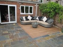 Patio Flooring Ideas Uk by Garden Paved Area Greenfellas Supplied And Fitted In London