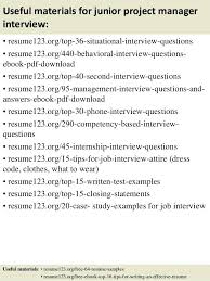 Program Manager Resumes Examples It Project Education And Professional Profile Senior Resume