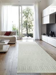 benuta teppich läufer sloan türkis 80x300 cm moderner