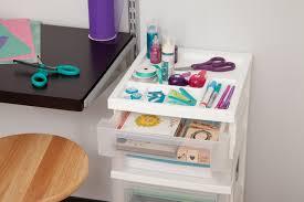 Mainstays Desk Chair Spearmint by Iris 4 Drawer Cart With Organizer Top Walmart Com