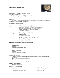 Character Reference In Resume Sample Inspirational Personal Resumes Daway Dabrowa
