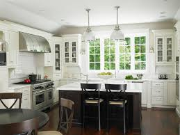 Kitchen Remodel Ideas Dark Cabinets White Cabinetry Set Color Scheme Ceramic Wall Counter Island As Decorate Checkerboard Floor