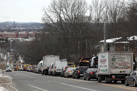100 New Tow Trucks Huge Traffic Jam Delays Travel Around I495Route 114 Area As Tow