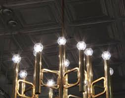 ChandelierLightening Stunning Light Bulb Chandelier Elegant Brass By Sciolari Arresting Decorative Bulbs