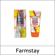 farmstay farm stay oil free uv defence sun cream spf50 pa