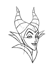 600x776 How To Draw Maleficent Coloring Pages Color Luna