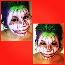 Halloween Faces For Pumpkins Painted by Pumpkin Face Paint Halloween Makeup And Facepainting Pinterest
