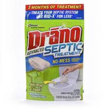 Drano For Sink Walmart by Drano Advanced Septic Treatment 3 Count Walmart Com