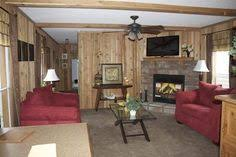 Single Wide Mobile Home Interior Remodel