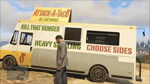 Grand Theft Auto 5 - Taco Truck Driving Gameplay [HD] - YouTube The 10 Most Popular Food Trucks In America How Did Food Network Featured Big Truck Tacos Help Pitt State Nacho Mamas Thevegannomads Classic Taco Orange County Trucks Roaming Hunger Fred Friends Holder Fun Ding Noveltystreet Breakfast Taco Big Portion But No Flavor All Eggs Yelp Truck Tacos Bigtrucktacos Twitter Van Gta Wiki Fandom Powered By Wikia Wave Grill Mexican Restaurant Oklahoma City August 2010 Columbus Ohio