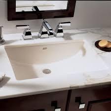kohler verticyl rectangular undermount bathroom sink with overflow