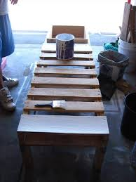 DIY Pallet Bench Instructions With Planter Box
